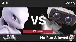 NFA 3 - SDX (Mewtwo) vs SC | SaSSy (ROB) Winners - SSBU