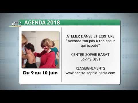 Agenda du 21 mai 2018
