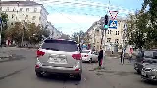 Аварии на дороге, приколы на дороге 2018 3