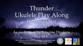 Gambar cover Thunder Ukulele Play Along -  Easy