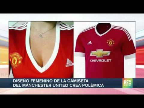 Camiseta de Manchester United para mujeres genera polémica