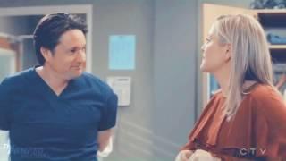Greys Anatomy 13x19 Arizona Talks To Riggs About MERDER