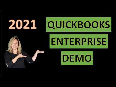 Quickbooks Enterprise Demo 2021 - YouTube