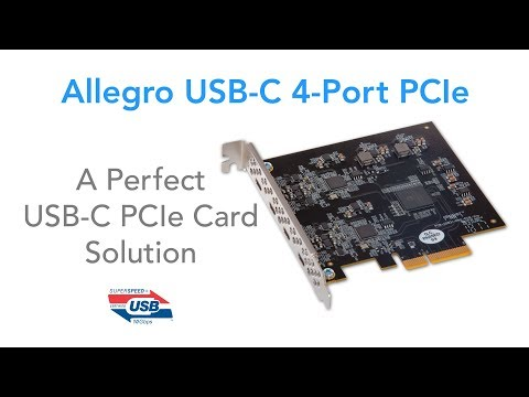 Allegro USB-C 4-Port PCIe Product Overview
