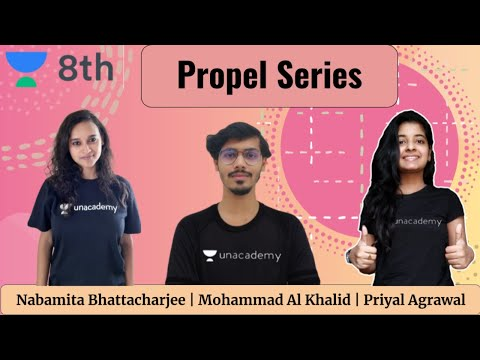 Propel Series | Sprint Unacademy Class 8 | Biology | Physics | Maths