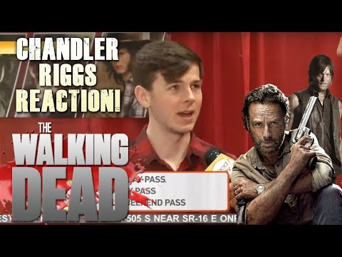 The Walking Dead Season 9 - Carl Reacts to the News of Rick Leaving!