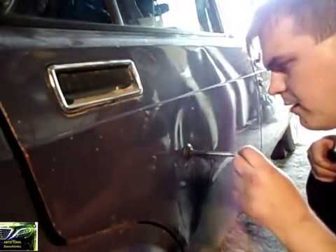 Как быстро выпрямить вмятину на авто своими руками!