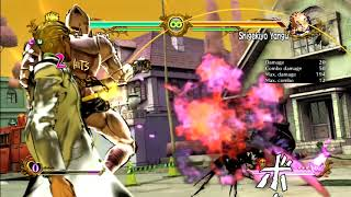JoJo's All Star Battle: Yoshikage Kira Move Set - HD