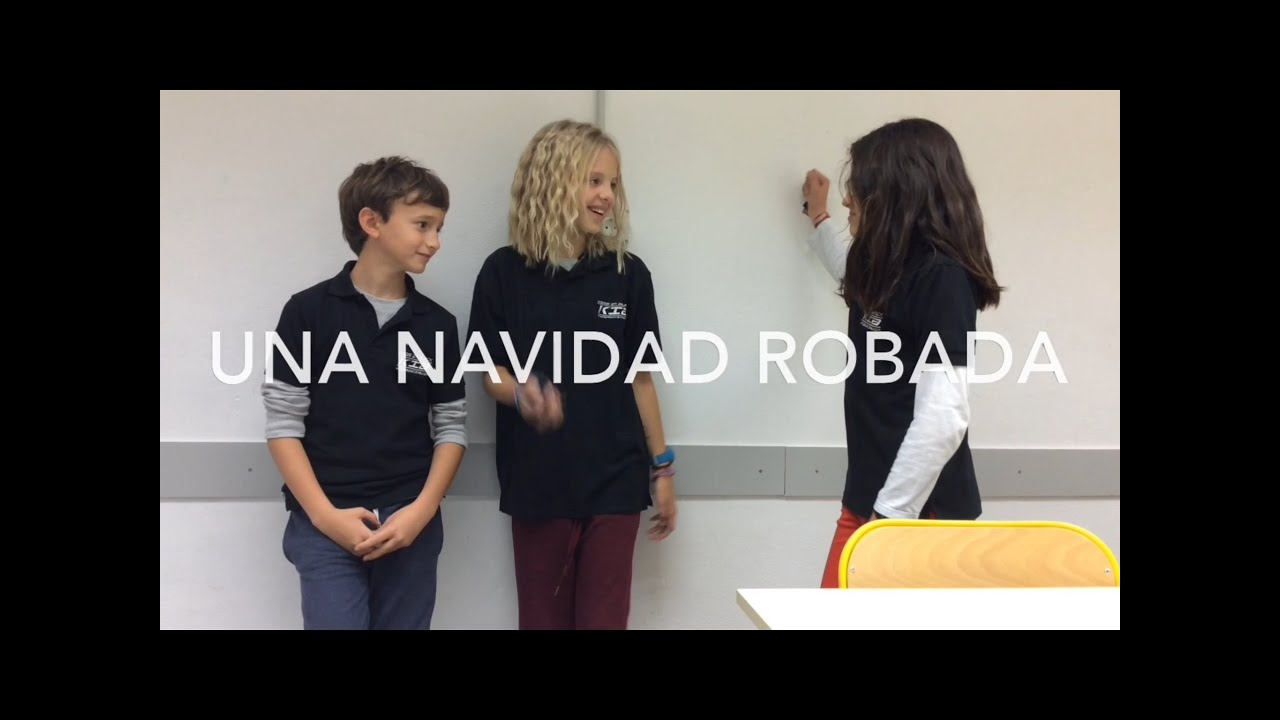 Cine para niños- Una Navidad robada - Kids Work - Pequeños Cineastas - Kids In Black