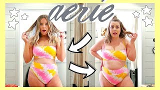 SIZE 12 GIRLS TRY THE SAME EXACT OUTFITS FROM AERIE