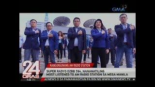 Super Radyo DZBB 594, nananatiling Most Listened To AM Radio Station sa Mega Manila