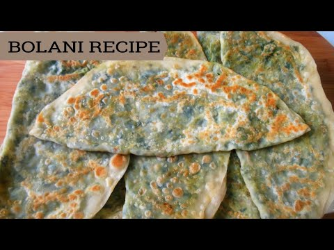 AFGHANI BOLANI RECIPE ,  TASTY APPETIZER RECIPE, BEST TASTY FOOD RECIPE