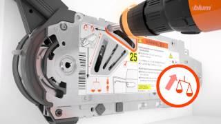 Монтаж и настройка подъемного механизма  AVENTOS HF