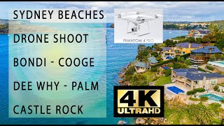 Sydney Beaches DRONE shoots DJI Phantom Pro4 ( Palm, Bondi, Coogee, Dee Why, and more )