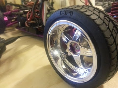Rims and Tires for an 1/10 rc