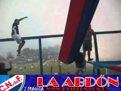 """""""RECIBIMIENTO DE LA BANDA DEL PARQUE NACIONAL VS LIBERTAD (PAR)CLIBER2012"""" Barra: La Banda del Parque • Club: Nacional"""
