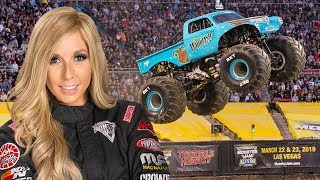 Whiplash Monster Truck Backflip in slow motion | Monster Jam 2018