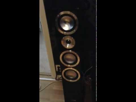 Canton chrono sl 580.2 DC with Yamaha a2020