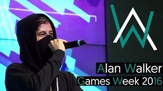 Alan Walker - Live @ Games Week Milan 2016 [BEST QUALITY] (Full Set) 60 fps