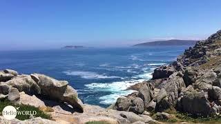 Ausblick am Faro de Punta Nariga I