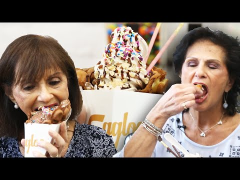 Grandmas Try Instagram Famous Ice Cream