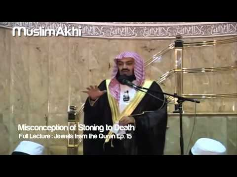 Misconception of stoning to death - Mufti Menk