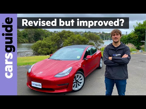 Tesla Model 3 2021 review: Long Range – how does the biggest battery fare around town?