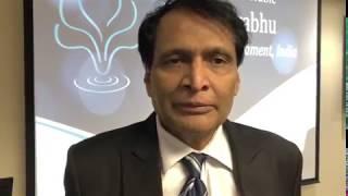 Indian MP Mr. Suresh Prabhu in Michigan