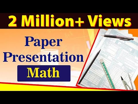 Math Paper Presentation | Best Board Exam Tips For Students 2021 ...
