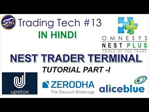 NEST Tutorial Hindi – I ( Trading Tech #13 )