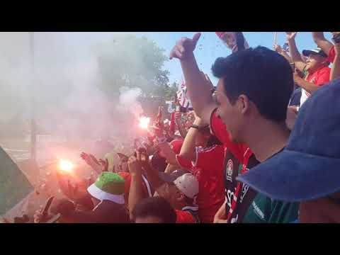"""Salida Lota Schwager vs Municipal Lampa (Ascenso 2019)"" Barra: Los Sin Nombre • Club: Lota Schwager"