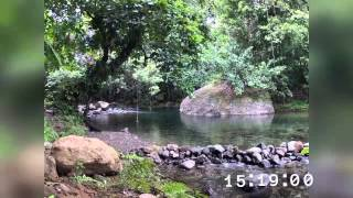 preview picture of video 'Mermaid's Pool Timelapse - Mermaid's Secret - Dominica'