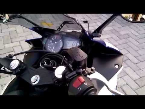 Yamaha R25 Engine Sound