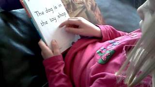 5 year old learning to read