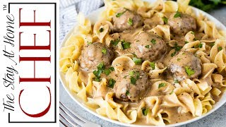 The Best Swedish Meatballs And Gravy