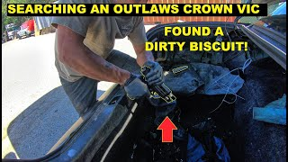 Searching A Criminals Crown Vic Found A dirty Biscuit!
