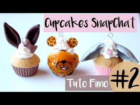 • [TUTO FIMO] CupCakes SnapChat #2 •