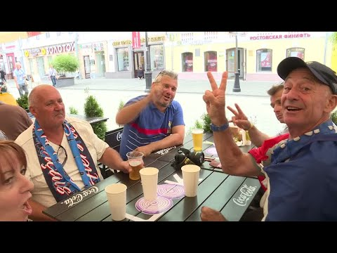 World Cup 2018: Uruguay and France supporters get ready for decisive match