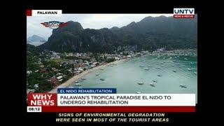 Palawan's tropical paradise El Nido to undergo rehabilitation