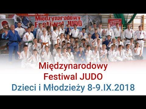 Materiał z Międzynarodowego Festiwalu Judo Dzieci i Młodzieży, 8 wrzesień 2018r.