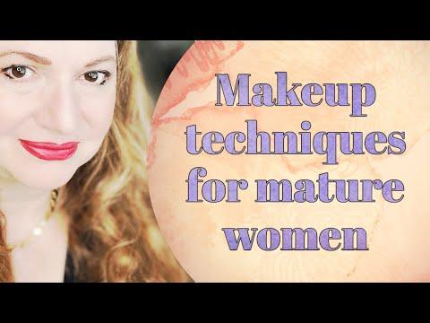 Makeup techniques for women over 60 | amymirandamakeup