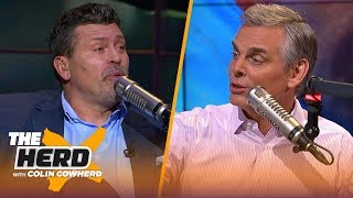 Panthers signing Bridgewater would make sense, bad O-line is an epidemic— Schlereth | NFL | THE HERD