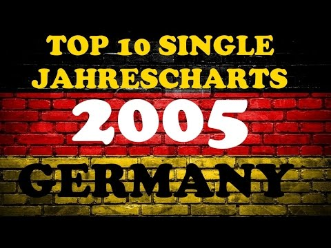 TOP 10 Single Jahrescharts Deutschland 2005 | Year-End Single Charts Germany | ChartExpress