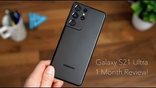 Samsung Galaxy S21 Ultra 5G Review After 1 Month!