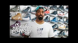 JR. Smith Goes Sneaker Shopping With Complex