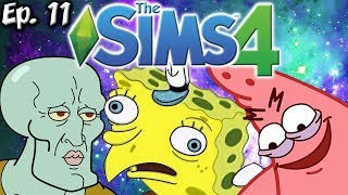 ALL THE SPONGEBOB MEMES!! | The Sims 4: Memes Theme | Ep. 11
