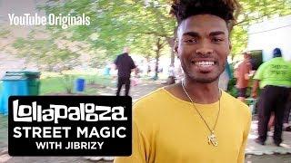 Lollapalooza Street Magic With JIBRIZY