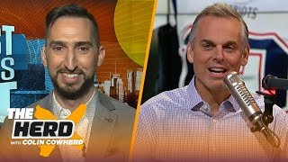LeBron is still the best player in the NBA, talks Lakers, Cam and Panthers — Nick Wright | THE HERD