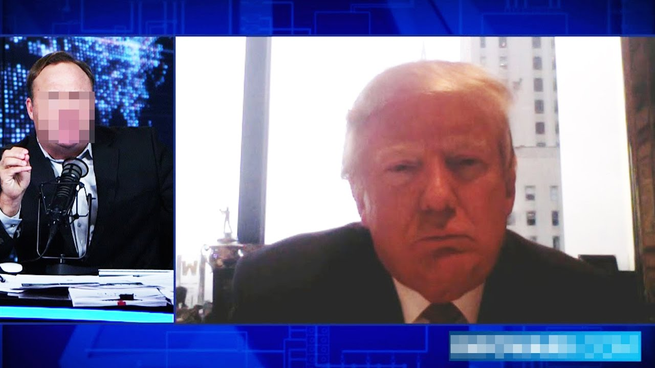 OOPS! Trump Believed Alex Jones On Obama Wiretapping Him thumbnail