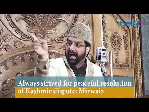 Always strived for peaceful resolution of Kashmir dispute: Mirwaiz